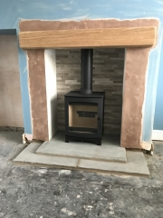 Tinderbox, Indian Stone Hearth, Oak Beam, Preston Lancashire