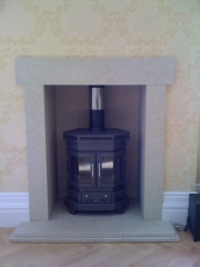 Barbas Wood Burning Stove, Formby, Merseyside