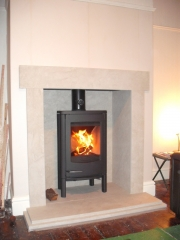 Dovre 2CB Wood Burning Stove, Lostock Hall, Preston, Lancashire