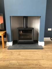 Stovax View 8 Slate Hearth Preston Lancashire