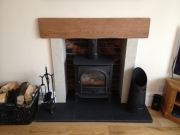 Stockton 7 Multi-Fuel Stove, New Longton, Preston, Lancashire