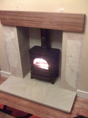 Stovax Stockton 5 Flat Top Multi-Fuel Stove 2, New Longton, Preston, Lancashire