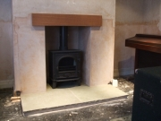 Stovax Stockton 5 Flat Top Multi-Fuel Stove, New Longton, Preston, Lancashire