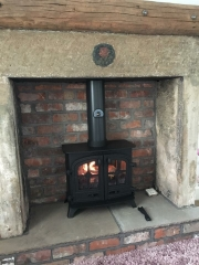 Yeoman Exe Traditional Stone Fireplace Croston Lancashire