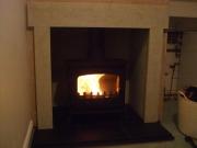 Yeoman Exe Flat Top Wood Burning Stove, Rufford, Ormskirk, Lancashire
