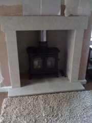 Yeoman Exe Flat Top Wood Burning Stove, Tarleton, Preston, Lancashire