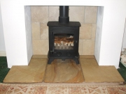 Yeoman Exmoor Flat Top Wood Burning Stove, Burscough, Lancashire