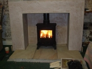 Yeoman Exmoor Wood Burning Stove, Burscough, Ormskirk, Lancashire