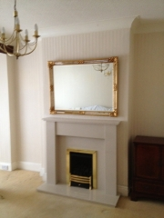 Legend Vantage Gas Fire in Marble Fireplace, Birkdale, Southport, Merseyside
