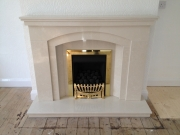 Legend Virage Gas Fire in Marble Fireplace, New Longton, Preston, Lancashire