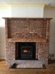 Yeoman CL8 Multi-Fuel Stove 4, Churchtown, Southport, Merseyside